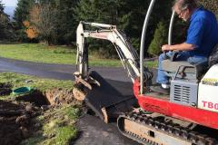 Picking up the asphalt